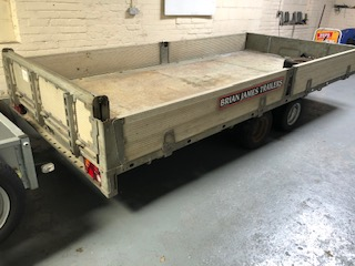 Brian James Tilt Bed Trailer 2